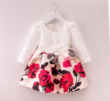 Flower Girl Princess Dress Girl Kids Pageant Dress Bridesmaid For Party Wedding'