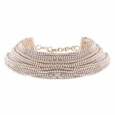 Fashion Chain Multilayer Choker Necklace For Women JEY035