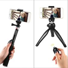 Extendable Selfie Stick Tripod Remote Bluetooth Shutter For iPhone Samsung Lot G