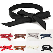 Bowknot Buckle Waistband Waist Belt Elastic  Bow Stretch New Fashion Women O0101