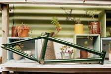 TERRIBLE ONE BARCODE FRAME in BURGANDY, GREEN - USA MADE BMX FRAME