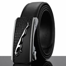 New Fashion Leather Material Black Color Metal Buckle Stylish Belt For Men