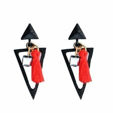 Triangle Shape Zinc Alloy Metal Drop Shape Casual Wear Earrings For Women Xx792