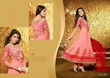 Indian Pakistani Dress Shalwar Kameez Designer Suits Embroidery Semi Stitched