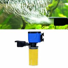 3 in 1 Fish Tank Aquarium Internal submersible Water Power Filter Pump 2800L/HGT