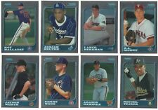1997 Bowman Chrome Complete Team Set 21 Available Rookie Card RC 97 Premium