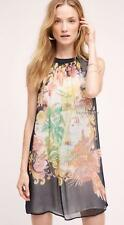 NEW Anthropologie Varese Silk Dress by Moulinette Soeurs  Size 2-6-8-10-12