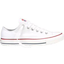 Converse All Star Shoes Canvas article M7652 White Upper Cotton Sole Rubber