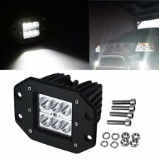 4 inch 18W Square Flood LED Work Light Bar For Jeep Off Road TRUCK CU