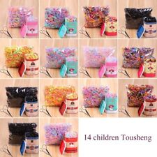 Candy Color Hair Rope Elastic Rubber Bands For Girls Kids Child Hair Bands GA