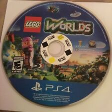 LEGO Worlds PS4 Disc Only FAST SHIPPING!