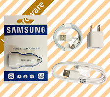 Fast Car Charger Power Adapter USB Data Charging Cable for iPhone Samsung HTC AU