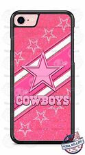 Dallas Cowboys Pink Glitter image Phone Case Cover fits iPhone Samsung LG etc