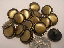 "New lots of antique Brass Finish Metal Buttons 1 1/8,11/16, 7/8"" & Blazers  #ABO"