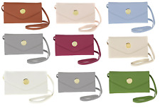 JOY Smart & Chic Genuine Leather Crossbody/Wallet with RFID Security