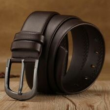 New Stylish Brown Color PU Leather Buckle Strap Waistband Belt For Men