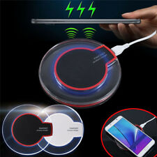 Qi Wireless Charging Pad Charger for Samsung Galaxy S8+ S8 S7 S6 S6 Edge