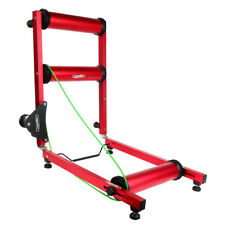 Professional Indoor Bike Bicycle Cycling Parabolic Roller Trainer Red/Black