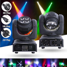 17/21CH 80W RGBW LED Moving Head Stage Light DMX512 Party DJ Bar Show Lighting