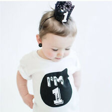 Baby Boy Girl T shirts for Children Clothing Summer Brand Clothes Baby Birthday