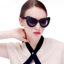 New Fashion 8 Colors Acetate Material Vintage Sun Glass For Women