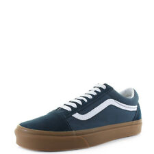Mens Vans Old Skool Reflecting Pond Gum Canvas Suede Trainers Shu Size
