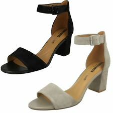 Ladies Clarks Heeled Sandals Deva Mae