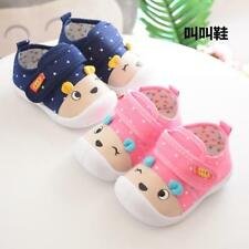 Soft Sole Squeaky Casual Toddler Cartoon Pre-walker Kids Children Shoes 3-18 Mon