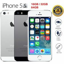 Apple iPhone 5s  16GB Factory GSM Unlocked Smartphone - Space Gray Silver Gold*