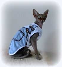 3 sizes Summer vest, Sphynx cat clothing, cat jumper, Sphynx clothes