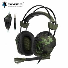 Sades SA921 Plus Gaming Headset PS4 casque 3.5mm Stereo Headphones with Mic for