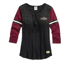 New Harley-Davidson  Genuine Laced Neckline Tee