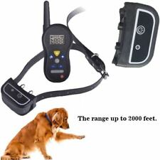 Dog Training Collar Rechargeable 500M Anti-Barking Electric Shock With Remote