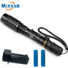 12000Lumen 5 Mode XM-L T6 LED Zoomable Flashlight Torch 18650 Charger Lamp Light