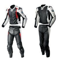 BMW Sports Motorcycle Leather Suits Motorbike Racing Leather Biker Jacket Trouse