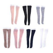 1 Pair Lace Socks Mixed Style Long Stockings For Barbie Doll Accessories