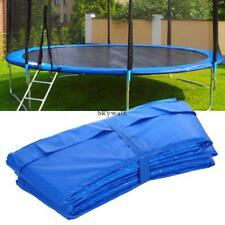 """10-15"""" Trampoline Safety Pad Spring Round Frame Pad Cover Replacement USA"""