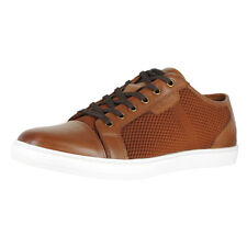 Kenneth Cole New York Brand Sneaker Cognac Mens Fashion Sneaker Size 9.5M