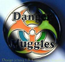 Muggles PathTag with GLOW Enamel (Choice of Finish)