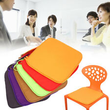 Chair Cushion Seat Patio Mat Office Square Pad Candy Colored Cushion Seat Mat