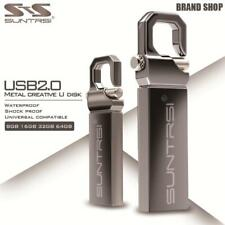 Suntrsi USB Flash Drive 64GB Metal Pendrive High Speed USB Stick 32GB Pen Drive