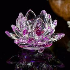 Crystal Glass Figurines Feng Shui Miniature Statue For Home Decoration A04