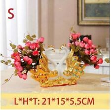 Gold Plated Wan Ceramic Vase Ornament For Home Furnishing Decoration NP416