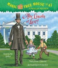 Abe Lincoln at Last! (Magic Tree House (R) Merlin Mission)  - Audiobook