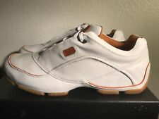 310 MOTORING URRACO 31086 White Tan Light Brown Men Size 95 11 11.5 Authentic DS