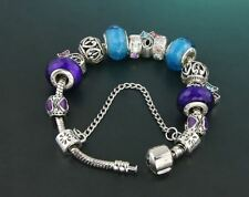 Trendy Crystal Decorated New Fashion Silver Plated Bracelet For Women