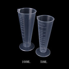 50ml 100ml Transparent cup scale Plastic measuring cup Measuring Tools Useful