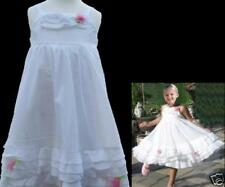 NWT KATE MACK Simply Stunning White Portrait Dress 4T 5T 100% Cotton Voile
