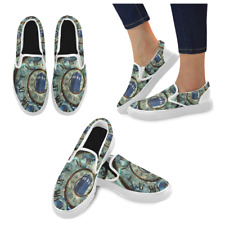 Tardis Doctor Who Fashion Women's Unusual Loafers Slip-on Flats Canvas Shoes