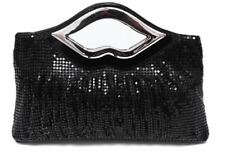 Women New Style Sequin Beading Decoration Handmade Evening Clutch With Chain